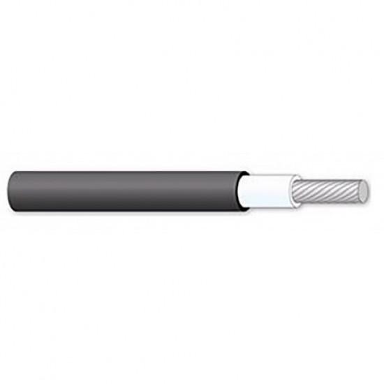Fotovoltaický kabel 4mm čierny
