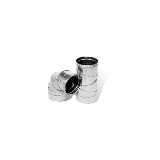 Koleno s čistiacim otvorom nadstavitelné 0-90/180/0.6mm